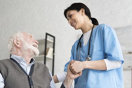 Résidence de retraités avec unité de soins, soins infirmiers et surveillance tous les jours, 24h/24h - Résidence Salaberry